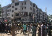 کراچی دھماکہ: مسکن چورنگی کے قریب عمارت میں دھماکہ، کم از کم پانچ افراد ہلاک، 25 سے زائد زخمی
