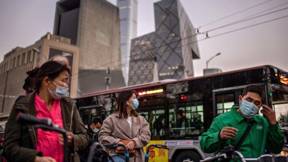 چین میں صورتحال معمول
