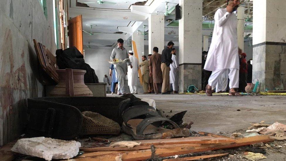 پشاور دھماکہ