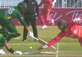 پاکستان بمقابلہ زمبابوے: سوشل میڈیا صارفین پاکستانی بلے بازوں کے 'مزاحیہ' رن آؤٹ سے لطف اندوز بھی، مایوس بھی
