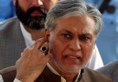 نواز شریف صحت ٹھیک ہونے سے پہلے پاکستان نہیں جائیں گے: اسحاق ڈار