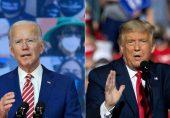 صدارتی الیکشن: ٹرمپ اور جوبائیڈن ووٹرز کو راغب کرنے میں مصروف