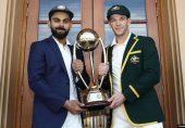 آسٹریلیا کا بھارت کے خلاف سیریز کے شیڈول کا اعلان