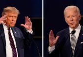 آخری صدارتی مباحثہ: ٹرمپ اور بائیڈن کن امور پر بات کرنا چاہیں گے؟