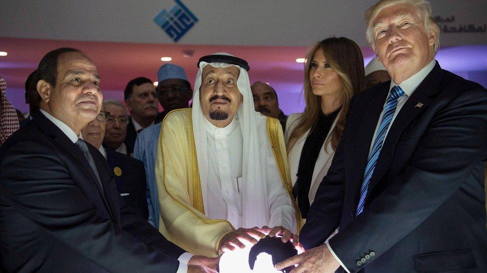 ٹرمپ، سعودی، مصر