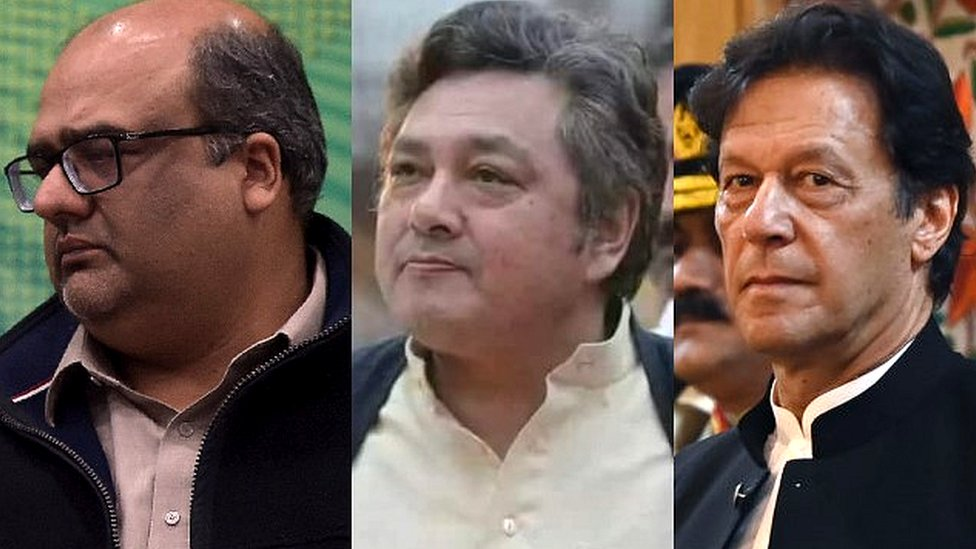 عمران خان، اعظم خان، شہزاد اکبر