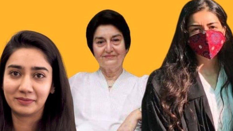 ایمان، زینب، ناصرہ