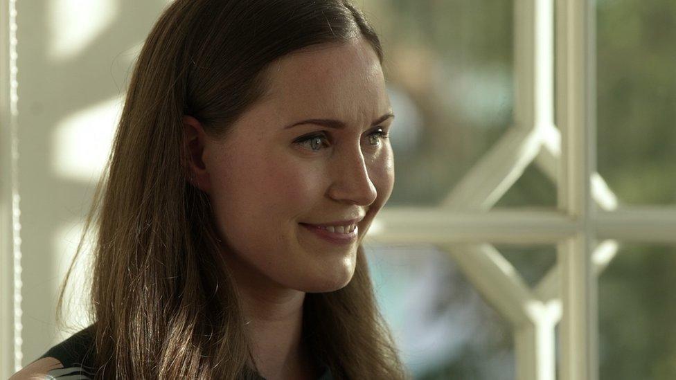 Sanna Marin smiling