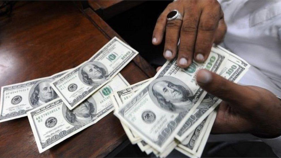 پاکستان، ڈالر، روپے