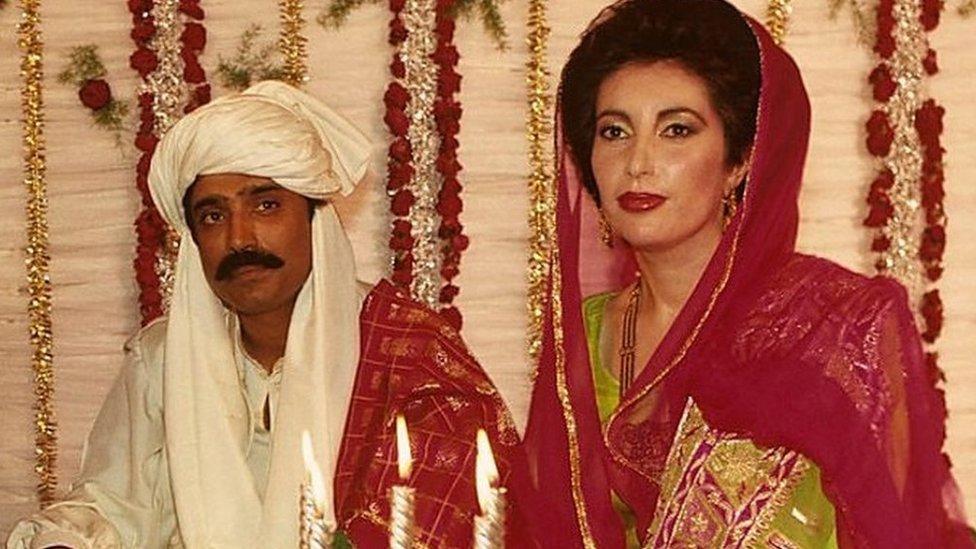 پاکستان کی سابق وزیر اعظم بینظیر بھٹو کی صاحبزادی بختاور بھٹو زرداری کی شادی طے پا گئی ہے۔ اِس موقع پر بی بی سی نے اُن کی والدہ کے نکاح جوڑا تیار کرنے والی ڈیزائنرز سے ملاقات کی۔