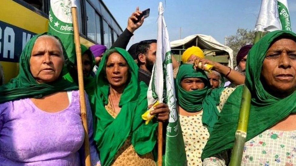 خواتین مظاہرین