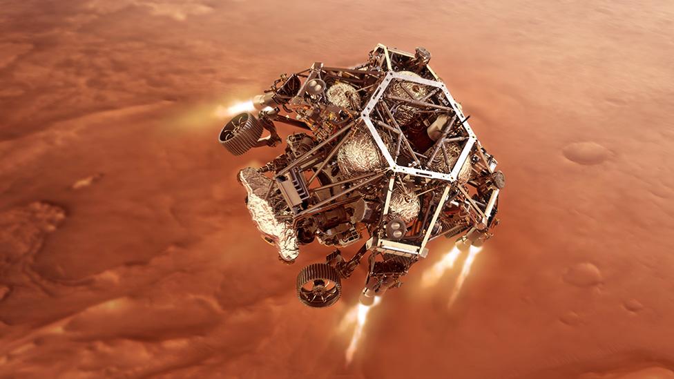 Artwork: Rover descent