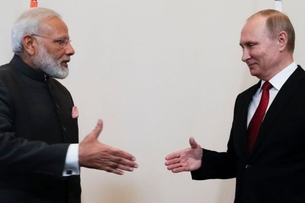 انڈیا کو لگتا ہے کہ چین پر روس کا اسرورسوخ ہے