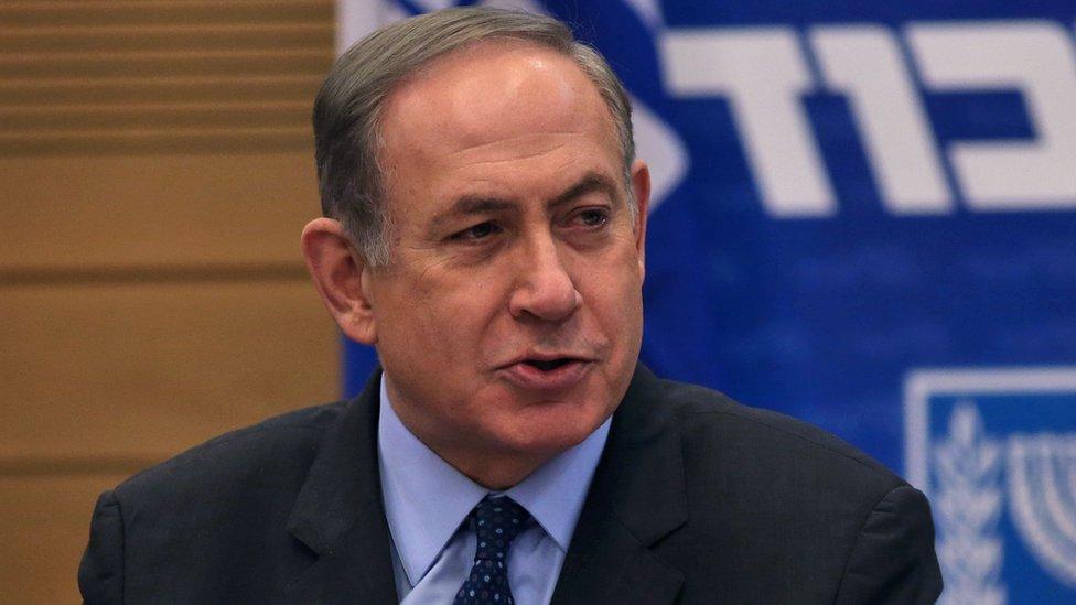 اسرائیلی وزیر اعظم بن یامین نتن یاہو