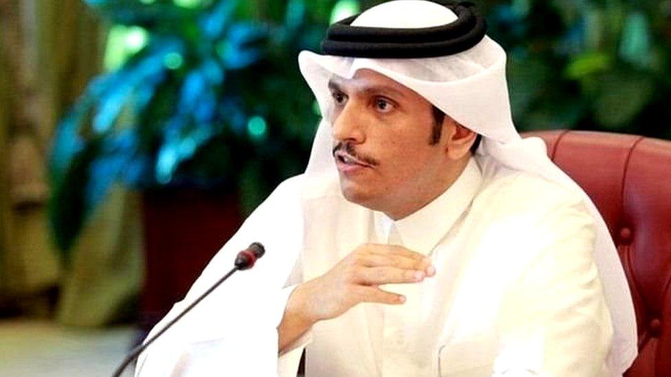 قطری وزیر خارجہ شیخ محمد بن عبدالرحمٰن الثانی