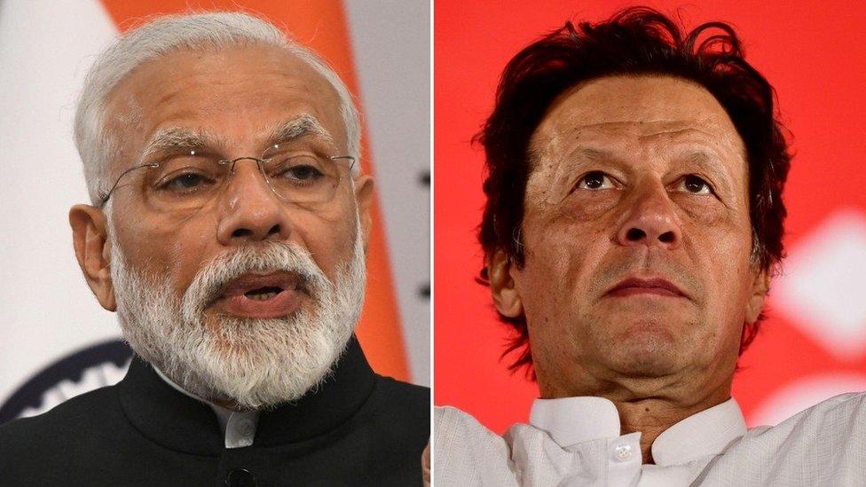 عمران خان اور نریندر مودی