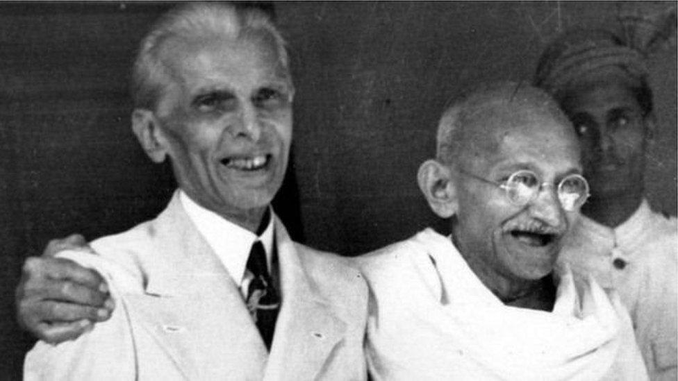 محمد علی جناح اور گاندھی