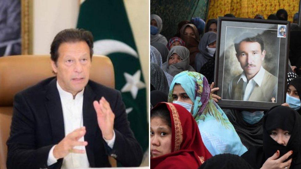 عمران خان، ہزارہ دھرنا