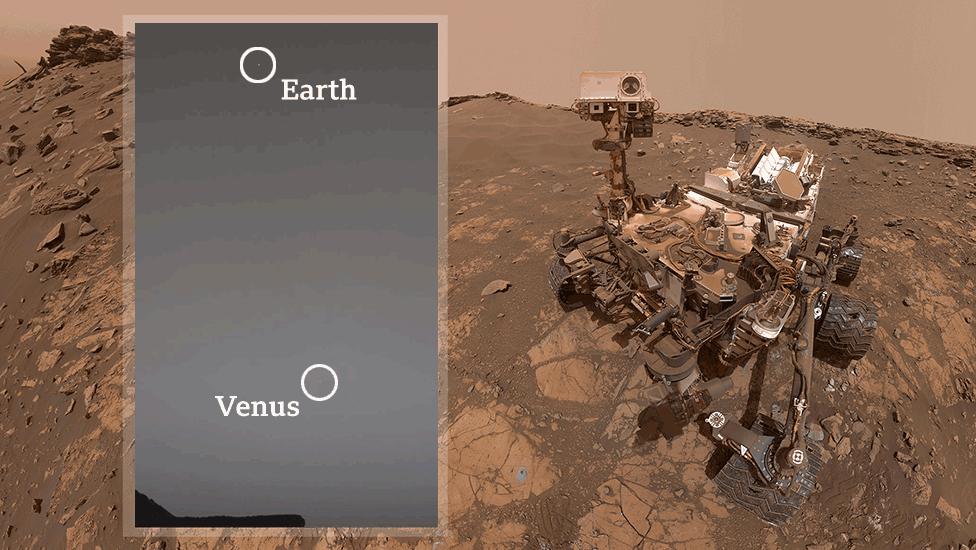 روبوٹ ماہر ارضیات کچھ فلکیات کا مطالعہ کرتے ہیں