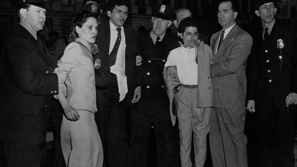 ' گروہ کی رہنما لولیتا لیبورن نے کہا کہ 'میں پیورٹو ریکو کے لیے جان دینے آئی ہوں۔'