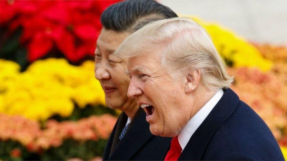 امریکی اور چینی رہنما