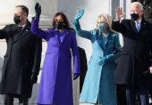 امریکی نومنتخب صدر جو بائیڈن کی تقریبِ حلف برداری: فیشن کی زبان میں کس نے کیا کہا؟
