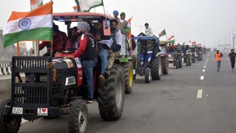 انڈیا ٹریکٹر ریلی