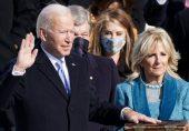 جو بائیڈن کی حلف برداری: اتحاد کی اپیل اور ٹرمپ ازم کا بھوت