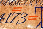 صدیوں پہلے یورپ میں استعمال ہونے والے ہندسے جو ایک راز بن گئے