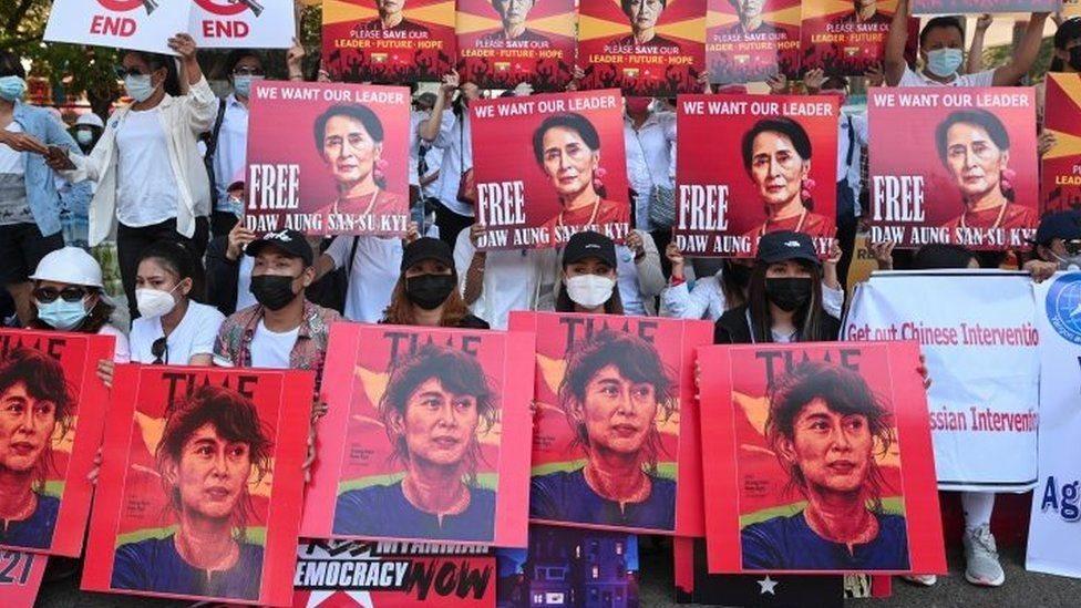 میانمار میں فوجی بغاوت