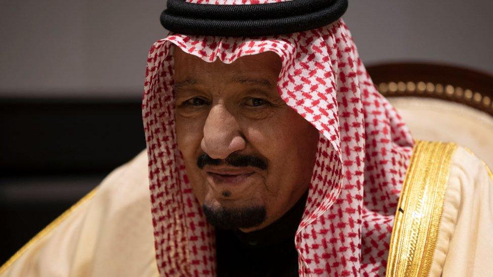 King Salman bin Abdulaziz Al Saud of Saudi Arabia, pictured on 24 February 2019