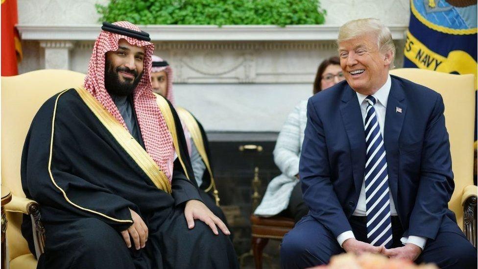 ٹرمپ اور محمد بن سلمان