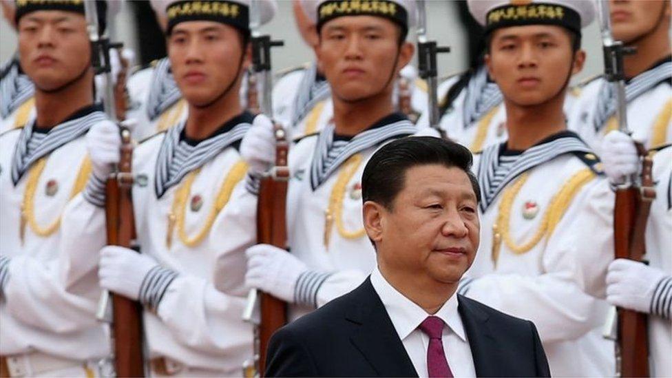 چینی صدر اور فوجی