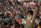 بھارتی کسانوں کے لئے عالمی حمایت مودی حکومت پر بھاری پڑے گی