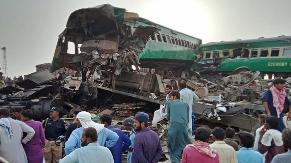 ٹرین حادثہ