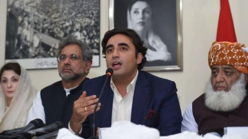پاکستان کی اپوزیشن