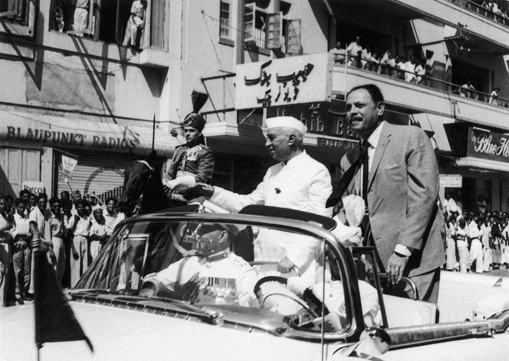 ایوب خان اور نہرو 1960