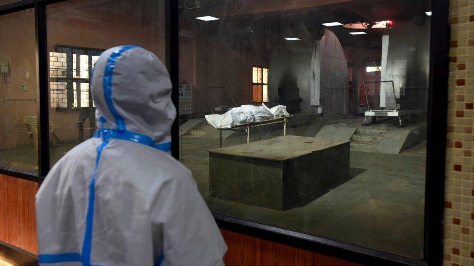 Crematorium workers