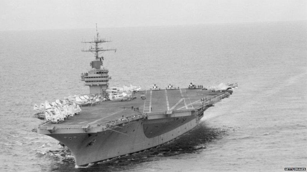 امریکی جنگی جہاز یو ایس ایس نیمٹز