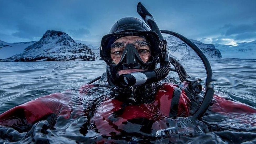 آموس قطب جنوبی میں