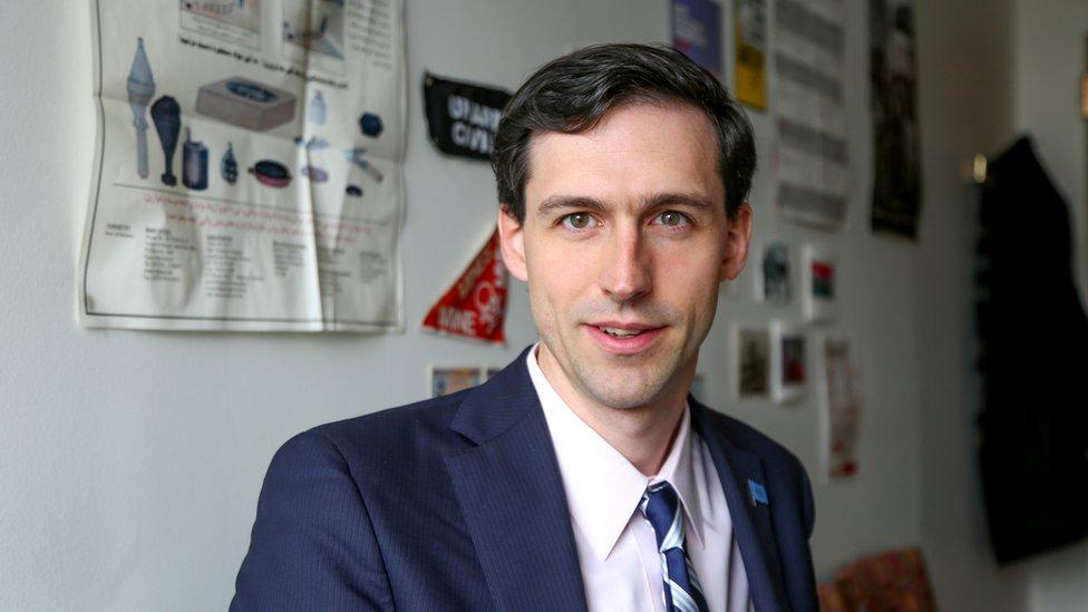 Matthew Breay Bolton at Pace University