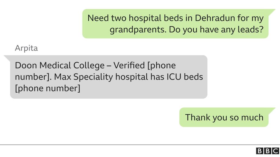 Arpita Chowdhury shares verified information through WhatsApp