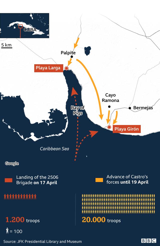 Infographic showing 16 April landing