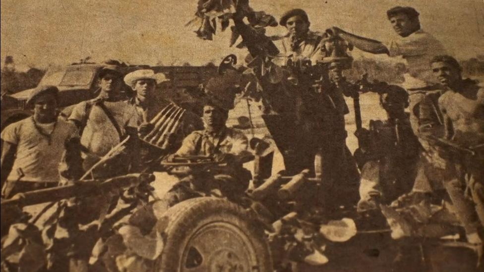 Jorge Ortega artillery