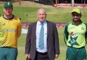 پاکستان بمقابلہ جنوبی افریقہ چوتھا ٹی ٹوئنٹی: پاکستان کا جنوبی افریقہ کے خلاف ٹاس جیت کر پہلے فیلڈنگ کا فیصلہ