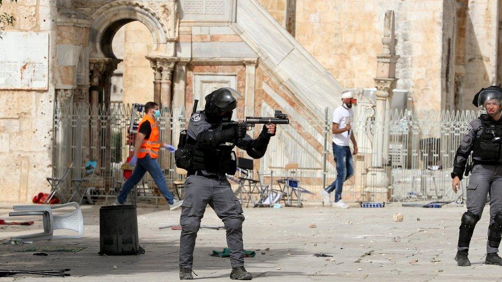 اسرائیلی سکیورٹی فورسز