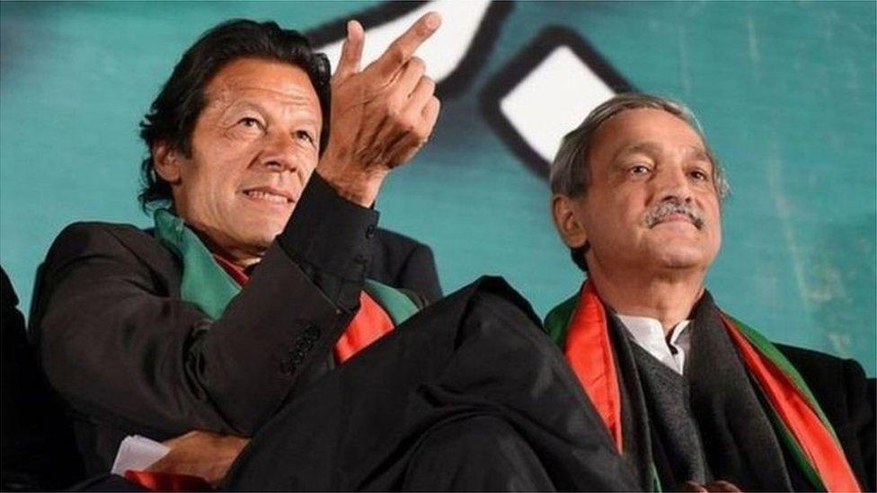 جہانگیر ترین، عمران خان