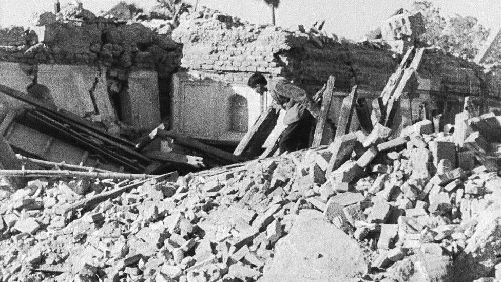 تباہ شدہ گھر