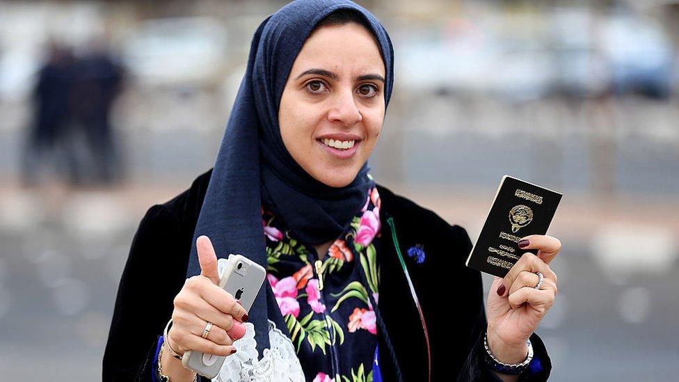 کویتی خاتون