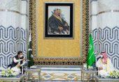 سعودی شاہی دربار میں پاکستانی قیادت کی حاضری